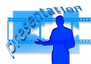 Clip art of presentation