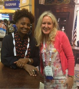 Photo of Tracy K. Smith and Melissa Davis