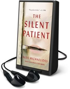 Photo of The Silent Patient on a Playaway